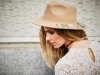 Vanesa Romero campaña Namdalay OI 2016: sombrero Amore