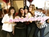 Vanesa Romero fiesta navideña Namdalay: Cristina Medina y amigas