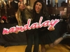 Vanesa Romero fiesta navideña Namdalay: Cristina Medina