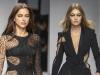 Versace desfile alta costura PV 2016: Irina Shayk y Gigi Hadid