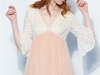 Vestidos con flores bordadas: Maggie Sweet modelo Laura
