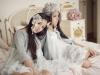 Vestidos de Comunión de calle 2016: Hortensia Maeso modelos blancos con chaquetas