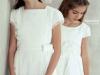 Vestidos de Comunión El Corte Inglés 2016: modelo Eva y Madreselva