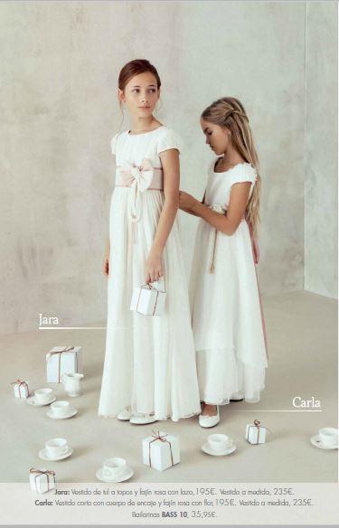 1daf86322 Vestidos de Comunión El Corte Inglés 2016: modelo Jara y Carla. Vestidos de Comunión  El Corte Inglés 2016: modelo Jara y Carla