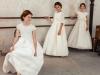 Vestidos de Comunión El Corte Inglés 2017: Tizzas modelos Mirta, Faviola y Antila