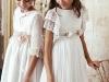Vestidos de Comunión El Corte Inglés 2018: modelos Varanasi y Mykonos