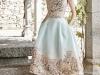 Vestidos de fiesta para invitadas de boda en primavera 2017: Dolores Promesas Heaven modelo corto con flores