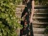 Vestidos de fiesta para invitadas de boda en primavera 2017: Dolores Promesas Heaven modelo largo estampado