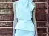 Vestidos de fiesta para invitadas de boda en primavera 2017: Dolores Promesas modelo azul