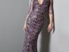 Vestidos de fiesta para invitadas de bodas de invierno 2017: Carolina Herrera modelo morado
