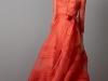 Vestidos de fiesta para invitadas de bodas de invierno 2017: Carolina Herrera modelo rojo