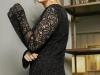 Vestidos de fiesta tallas grandes Violeta by Mango primavera 2017: encaje detalle