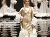 Vestidos de flamenca 2017: Ana Morón modelo blanco y dorado