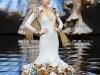 Vestidos de flamenca 2017: Ana Morón modelo dorado metalizado