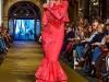 Vestidos de flamenca 2017: Javier Jiménez modelo rojo