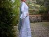 Vestidos de flamenca 2017: MiAbril modelo blanco