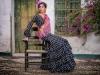 Vestidos de flamenca 2017: MiAbril modelo lunares