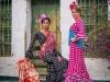 Vestidos de flamenca 2017: MiAbril modelos lunares