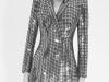 Vestidos de lentejuelas de Zara 2017: modelo blazer