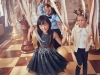 Vestidos de Navidad para niñas 2017: H&M lentejuelas negras