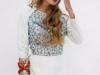 Vestidos de novia Analilen 2016: bordado de colores