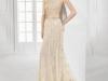 Vestidos de novia color pastel 2017: Patricia Avendaño modelo 2640