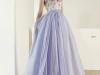 Vestidos de novia color pastel 2017: Patricia Avendaño modelo 2671