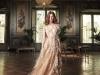 Vestidos de novia color pastel 2017: YolanCris modelo Salvia
