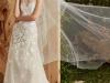 Vestidos de novia con flores 2017: Carolina Herrera modelo Addison