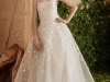 Vestidos de novia con flores 2017: Carolina Herrera modelo Amelie