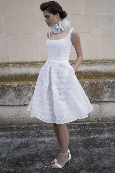 Vestidos de novia cortos 2017 marca la diferencia for Novias originales 2017