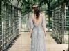 Vestidos de novia de cuento de hadas: azul claro