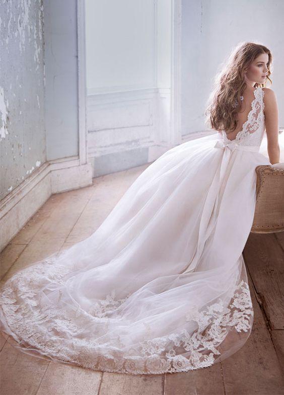 vestidos de novia de cuento de hadas: ¡comienza a soñar! [fotos