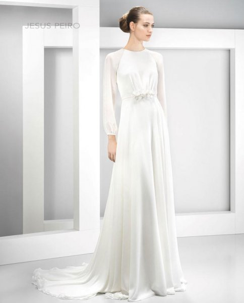 Vestidos de novia de manga larga 2017, estilo sofisticado [FOTOS ...