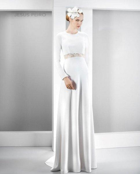 vestidos de novia de manga larga 2017, estilo sofisticado [fotos