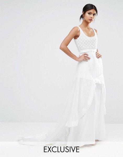 vestidos de novia low cost 2017, con estilo sin arruinarte [fotos