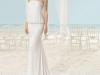 Vestidos de novia palabra de honor 2017: Aire Barcelona modelo Xacin