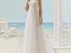 Vestidos de novia palabra de honor 2017: Aire Barcelona modelo Xenos