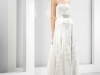 Vestidos de novia palabra de honor 2017: Jesús Peiró modelo 6074