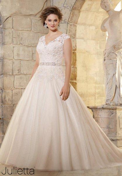 Vestidos de novia grandes y largos