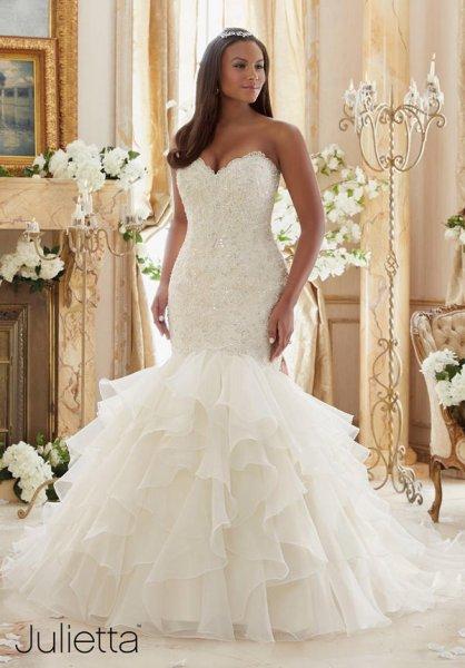 Vestidos de novia tallas grandes 2016: los más favorecedores [FOTOS ...