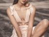 Vestidos de novia Topshop 2017: modelo rosa satén