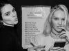 Victoria's Secret Fashion Show 2015 selfies de los ángeles: Candice Swanepoel y Kendall Jenner