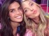 Victoria's Secret Fashion Show 2015 selfies de los ángeles: Elsa Hosk y Sara Sampaio
