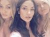 Victoria's Secret Fashion Show 2015 selfies de los ángeles: Gigi Hadid, Lily Aldridge y Candice Swanepoel
