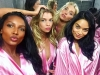 Victoria's Secret Fashion Show 2015 selfies de los ángeles: Jasmine Tookes, Stella Maxwell y Shanina Shaik