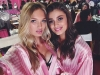 Victoria's Secret Fashion Show 2015 selfies de los ángeles: Taylor Hill y Romee Strijd
