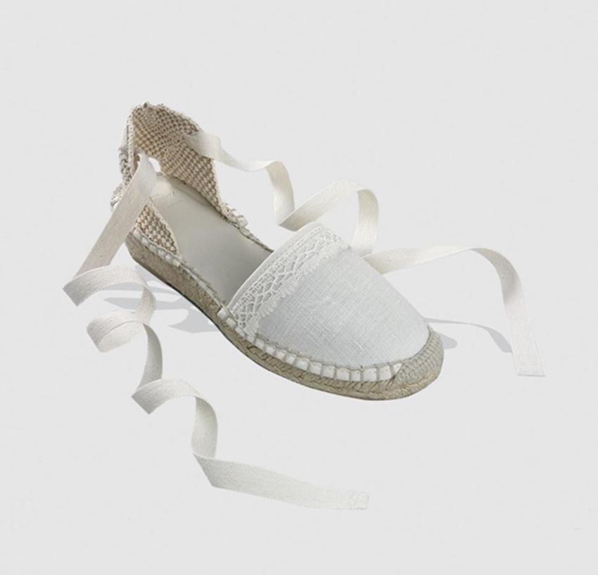 Zapatos de Comunión para niñas 2016 El Corte Inglés Tizzas alpargatas. Zapatos de Comunión para niñas 2016 El Corte Inglés Tizzas alpargatas