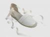 Zapatos de Comunión para niñas 2016: El Corte Inglés Tizzas alpargatas