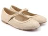 Zapatos de Comunión para niñas 2017: Clarys bailarina arena